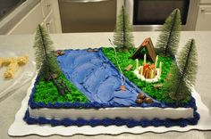 """Photo 1 of 9: Camping/Woodsy / Birthday """"Trenton's Backyard Campout Birthday"""" 