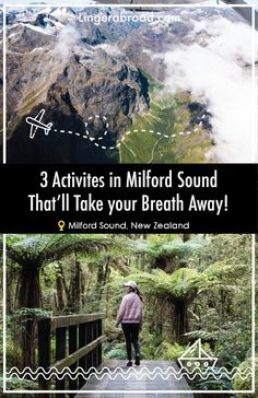 Milford Sound is one of the most beautiful spots in New Zealand and here are 3 breathtaking ways that you should see this iconic landscape: a scenic flight, an overnight cruise, and at the lookout track.  Milford Sound, New Zealand  #MilfordSound #NewZealand