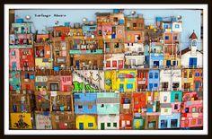 Casa do Imaginário : Maquete - O Morro, a Favela