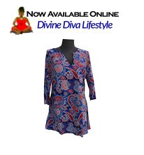 Quality, Style and Comfort in Quality Resort-Style Plus-Size Beachwear at DivineDivaLifestyle.com