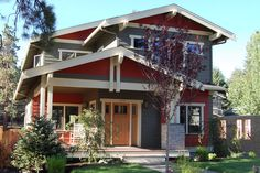 The best Craftsman house floor plans. Find 1 story Craftsman cottage style designs, modern Craftsman homes w/photos & more! Call for expert help. Bungalow Style House, Bungalow House Plans, Craftsman Style House Plans, Small House Plans, House Floor Plans, Craftsman Houses, Craftsman Farmhouse, Craftsman Exterior, Craftsman Bungalows