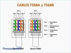 t568a t568b rj45 cat5e cat6 ethernet cable wiring diagram home rh pinterest com Bulk Category 5 Cable Category 5 Cable Color Code