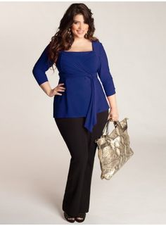 Luella Infinity Tunic in Royal. IGIGI by Yuliya Raquel. www.igigi.com Royal Blue is a great color on me ;)