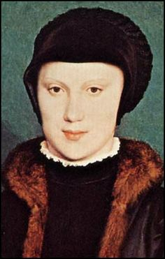 by Hans Holbein the Younger - Christina, Duchess of Milan (1538) (He-5)