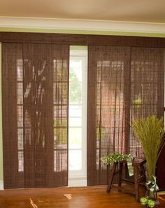affordable home living room decor rustic style with smooth sanded wood blinds for white