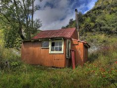 Image result for huts trAMPING NZ Sheds, Cabins, New Zealand, Industrial, Homes, Country, House Styles, Image, Shed Houses