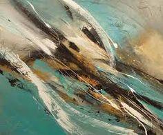 Resultado de imagen para pinturas abstractas modernas al oleo Pierre Bellemare, Abstract Expressionism, Outdoor, Color Azul, Inspiration, Paintings, Frames, Lakes, Painting Abstract