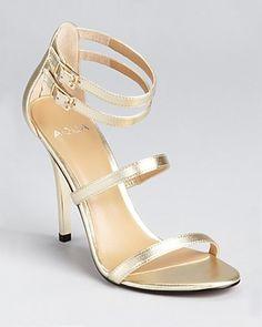 7eeaa53177d Aqua Sandals - Oak High Heel - 100% Exclusive Shoes - Bloomingdale s