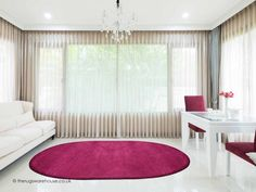 Home Comfort Plain Violet Oval Wool Rug Main Colors, Colours, Childrens Rugs, Oval Rugs, Home Comforts, Wool Rug, Beautiful Homes, Modern, Kids Rugs