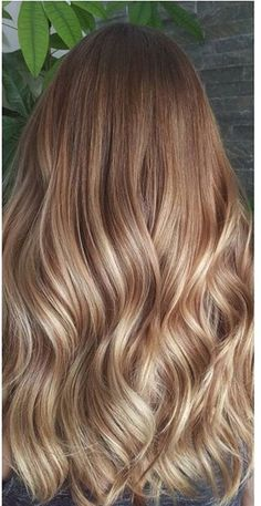 22 popular wigs to create a star hairstyle – Page 17 – Hairstyle Honey Blonde Hair, Blonde Hair Looks, Blonde Hair With Highlights, Light Brown Hair, Balayage Hair, Gorgeous Hair, Dyed Hair, Curly Hair Styles, Hair Makeup