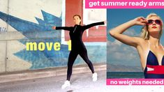 Get your arms ready for summer with these 5 arm toning exercises for women. You don't need any equipment and you simply do each move for 30 seconds, which takes 2 minutes 30 seconds in total and you then repeat this twice. For more workouts and tips head to my website. Lucy xx LWRFITNESS.COM