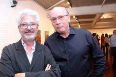 Laymert Garcia dos Santos e Aloísio Cravo