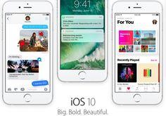 Apple lanza la primera beta de iOS 10 para usuarios en general
