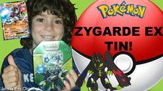 #VIDEO: #Pokemon Zygarde EX Shiny Kalos Tin opening! WATCH: http://youtu.be/jemgJnTlREM #Pokemon20