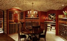 Red Leaf Solutions offers customized gorgeous in-home wine cellars! To learn more about our Denver custom wine cellars, please call us at Caves, Home Wine Cellars, Wine Cellar Design, In Vino Veritas, Tasting Room, Wine Tasting, Wine Storage, Storage Area, My Dream Home