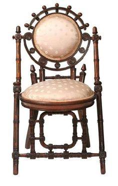 Hunzinger Chair 1800s Folding Chair