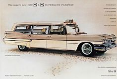 1959 S&S Superline Parkway on Cadillac Chassis