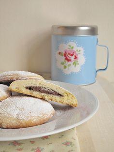Biscotti alla Nutella by SemplicementePepeRosa, via Flickr