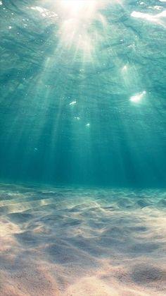 Sunshine Undersea Ocean View Deep #iPhone #6 #plus #wallpaper