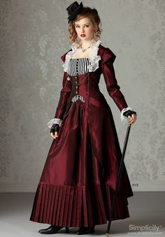 Rose  Misses and Women Steampunk Costume by CreationsByGuinevere, $200.00