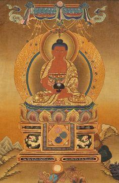 Amitabha Buddha Beautiful Authentic Buddhist by OdysseyGoods, €300.00