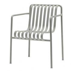 Hay's Palissade dining armchair, light grey