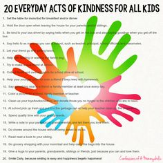 #SimpleGiving with 20 Everyday Acts of Kindness for All Kids - Confessions of a Mommyaholic