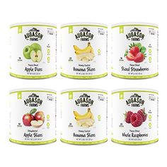 Augason Farms Fruit Variety Kit 10 Can 6 Pack ** Want to know more, click on the image.-It is an affiliate link to Amazon. #CampKitchenEquipment