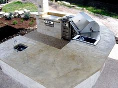 outdoor countertops | Gallery of Stonehenge Outdoor Concrete Countertops & Innovations