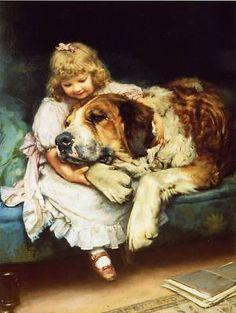 Arthur John Elsley ~ So Tired, 1894
