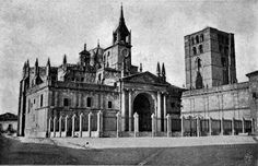 Zamora Cathedral - photo: public domain from Project Gutenberg's 'The Cathedrals of Northern Spain' by Charles Rudy