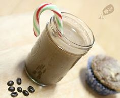 homemade peppermint mocha creamer!