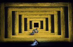 Wozzeck. Zurich Opera. Scenic design by Michael Levine. 2015