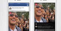 The Rock, Serena Williams, Michael Buble and Martha Stewart all plan on live streaming on day one. The Rock Dwayne Johnson, Dwayne The Rock, Facebook Marketing, Facebook Mockup, Facebook Android, Business Marketing, Internet Marketing, Digital Marketing, Apps