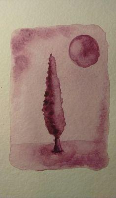 "Serie ""Bajo la luna"" 5 M. Barrangou"