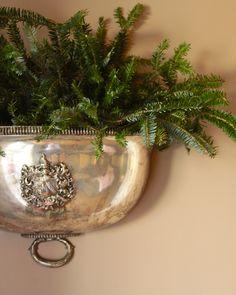 silver & pine... perfect.