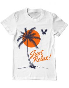 Tricou Just relax Just Relax, Camping, T Shirts For Women, Mens Tops, Design, Fashion, Campsite, Moda, Fashion Styles