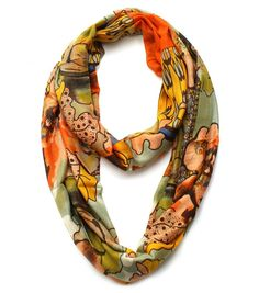 Cozy by LuLu - Ingrid Fall Infinity Scarf