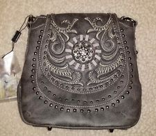 NEW! MONTANA WEST - Steel Gray Cross Body Bag - Handbag - Purse