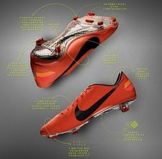 pretty nice d5adb 67fb1 New Nike Vapor VIII FG in Bright Mango Nike Football, Nike Soccer, Football  Shoes
