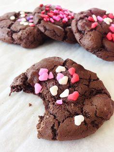 Skinny Chocolate Chili Cookies