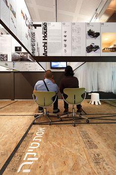 SO100 Exhibition / SO Architecture