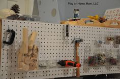 Play At Home Mom LLC: The Use of REAL Tools