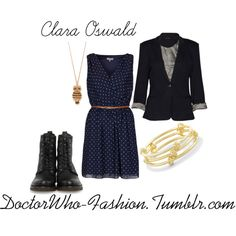 Clara Oswald  Polyvore - different shoes