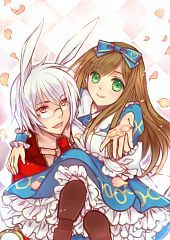 Peter White and Alice Liddell from Alice in the country of Hearts