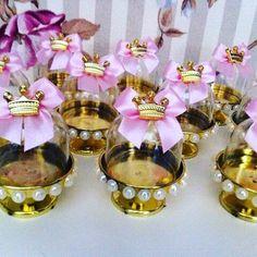 Mini cúpulas decoradas, um chame a mais para toda festa. Imagens Pinterest. #pinterest #minicupulas  #cheio_de_ideias