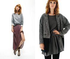 Julia Johansen - NAF NAF Lookbook Autunno-Inverno 2013