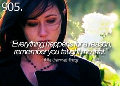 Prue: This isn't fair. You need to keep the time loop from being reset again or you and your sisters will . Serie Charmed, Charmed Tv Show, Charmed Characters, Female Characters, Shannon Dorothy, Shannen Doherty Charmed, Charmed Quotes, Favorite Tv Shows, Favorite Quotes