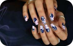 nail art one stroke by Tartofraises