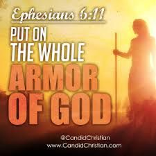 "What does it mean to ""put on the whole armor of God?"